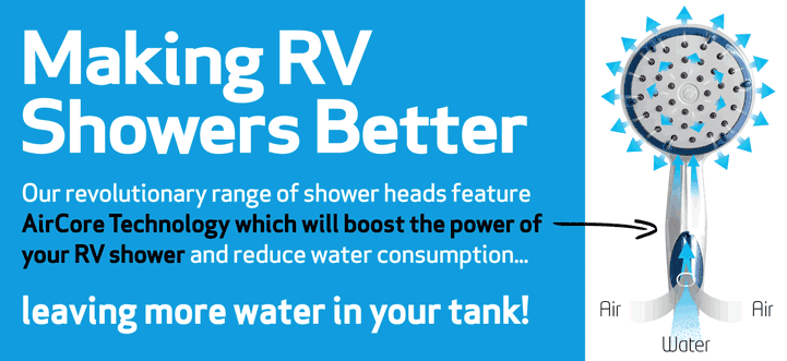 making rv shower heads better